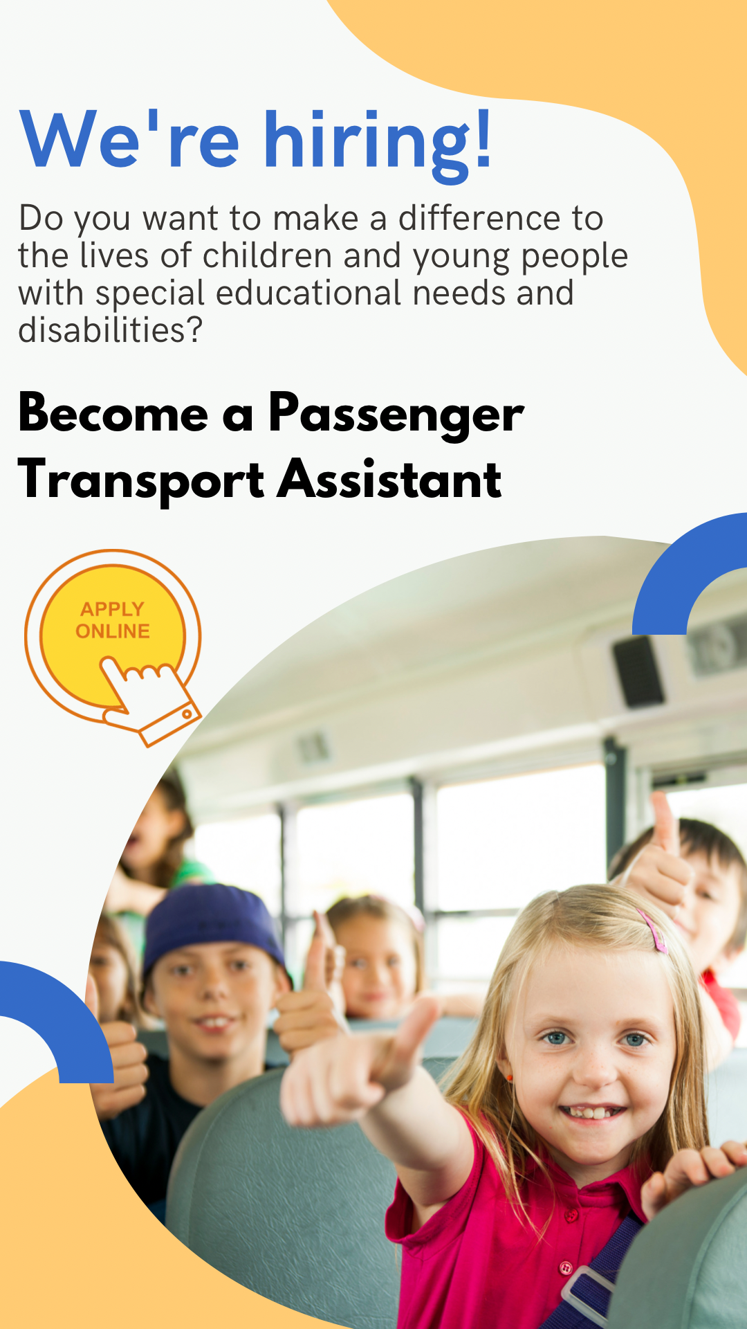Exciting Opportunity – PCC are looking for Passenger Transport Assistants